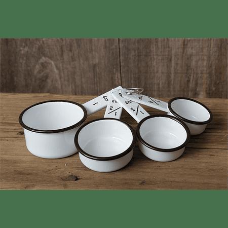 Pack 6 tazas medidoras