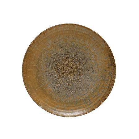 Plato cerámica mostaza