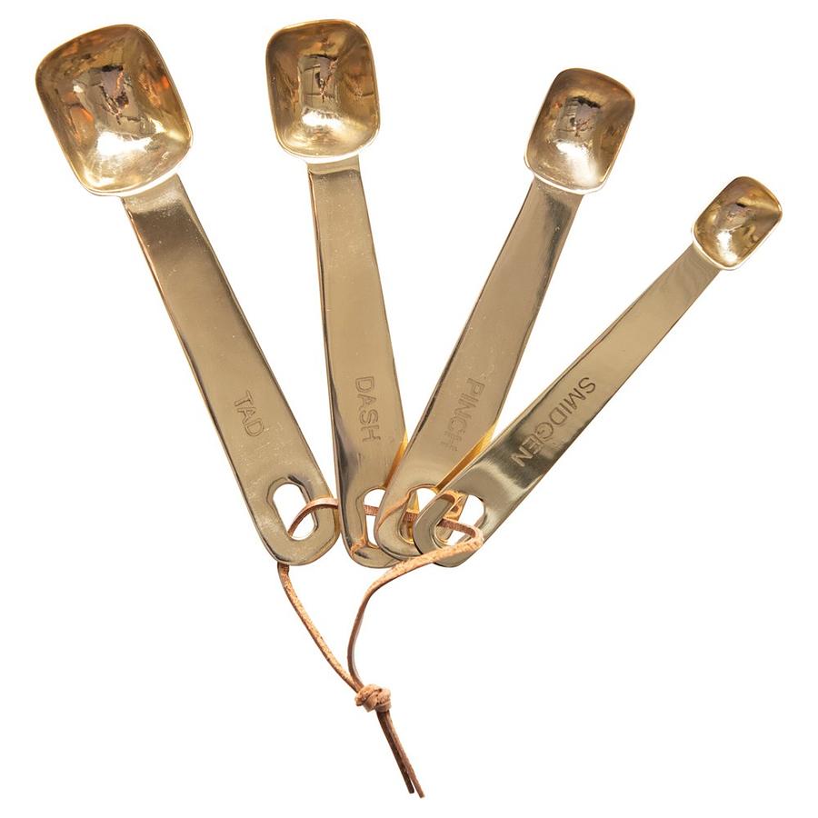 Set cucharas medidoras doradas