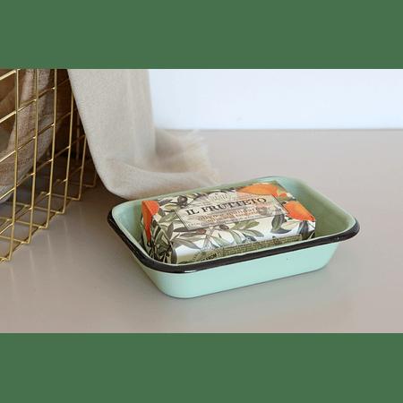 Pack 12 jaboneras verdes