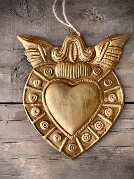 Corazón sagrado alas
