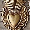 Corazón sagrado llama