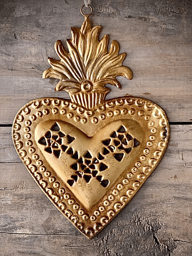 Corazón sagrado calado