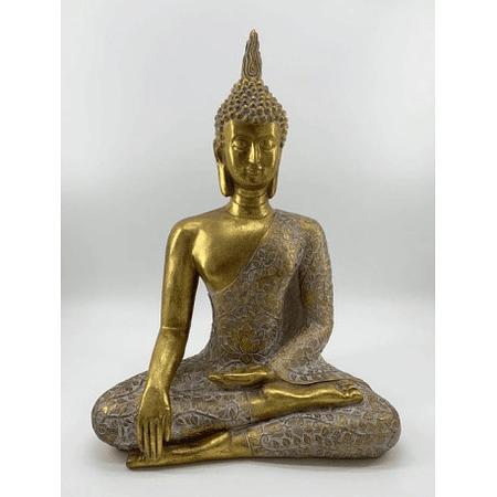 Buda meditando dorado
