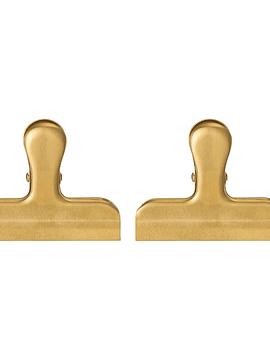 Set 2 clip dorado