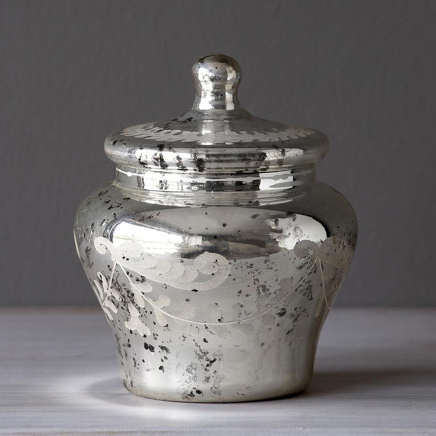 Urna vidrio mercurio