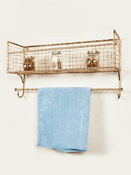 Repisa malla toallera