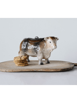 Contenedor vaca cerámica