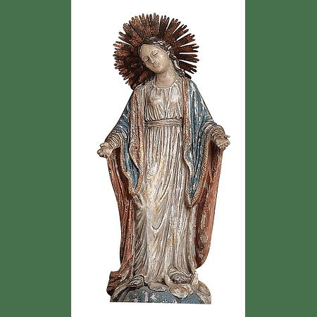 Virgen María resina