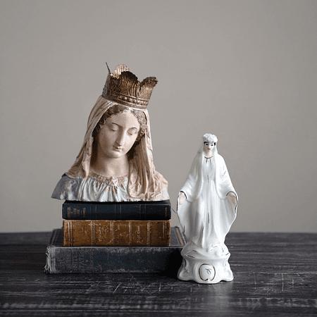 Busto Virgen corona