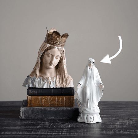 Virgen María porcelana