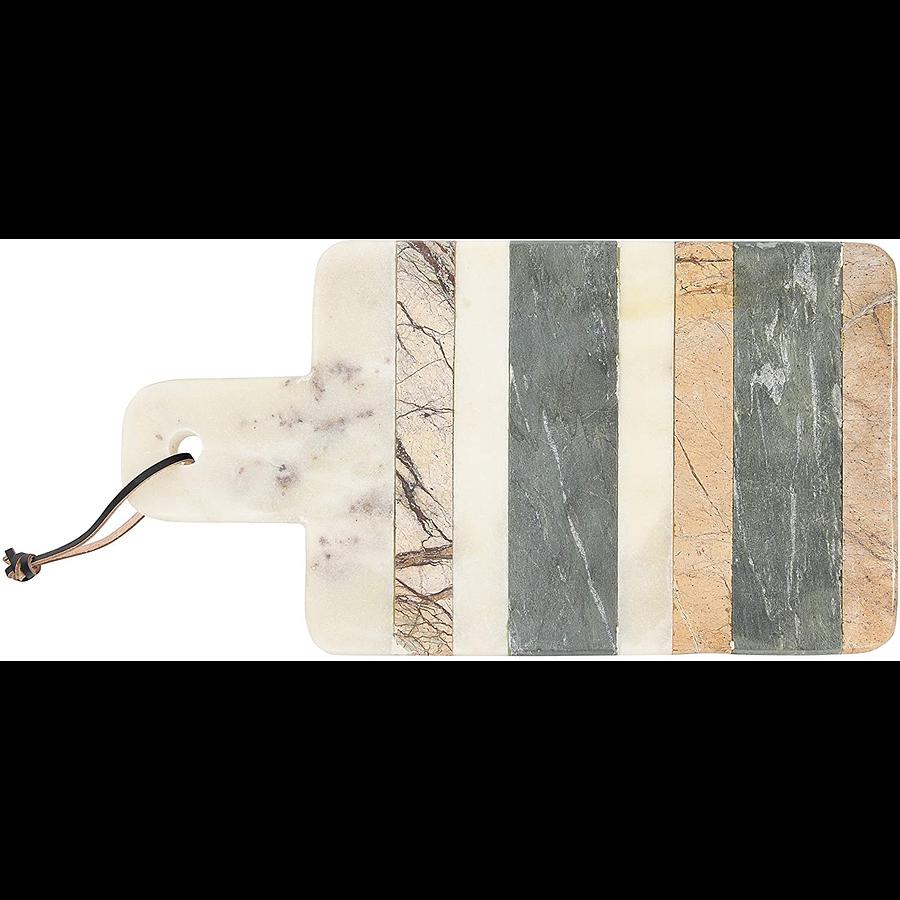 Tabla mármol franjas