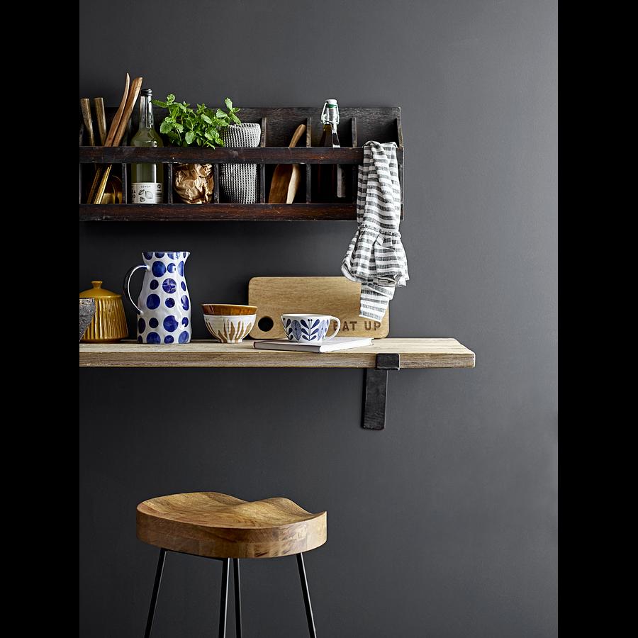 Repisa / mesa madera y metal