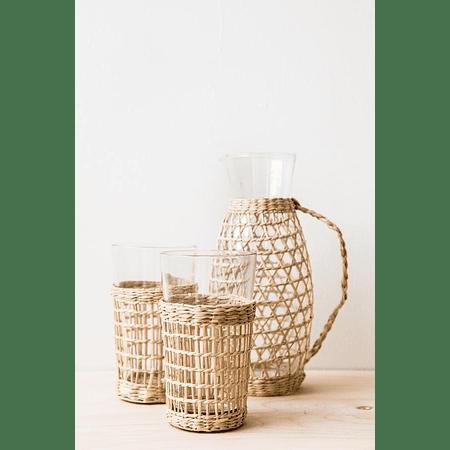 Vaso funda fibra