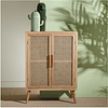 Mueble madera junco