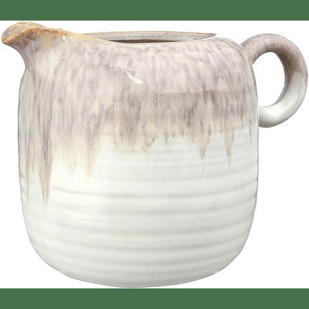Cremero cerámica bicolor