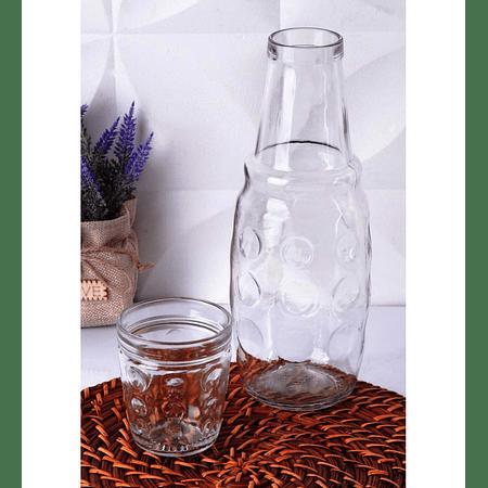 Jarra carafe vidrio