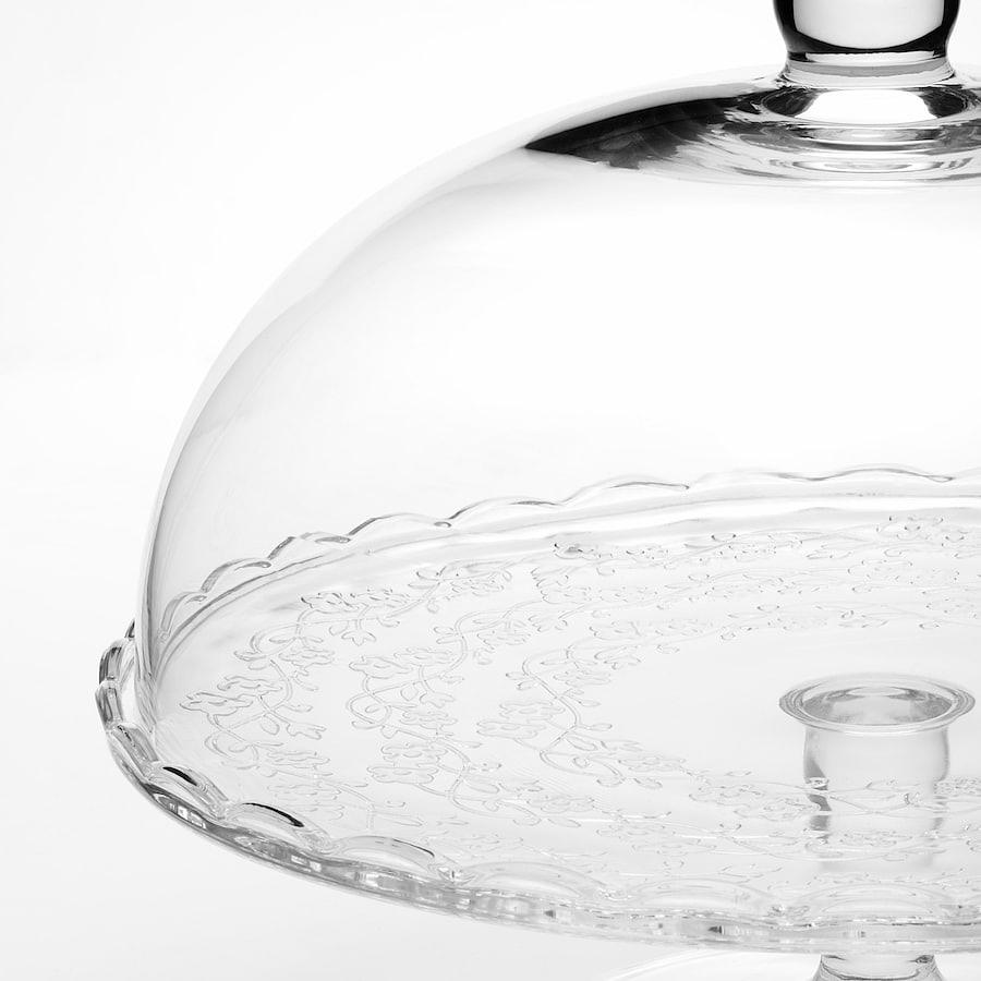 Tortero vidrio tapa