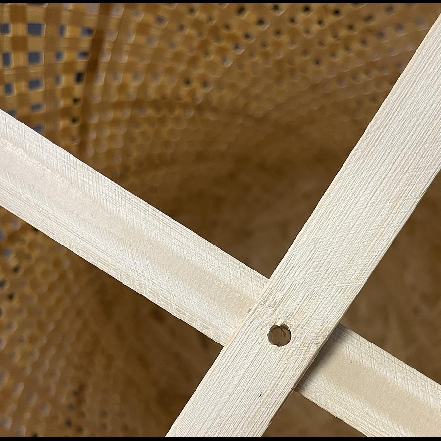 Pantalla piso bambú