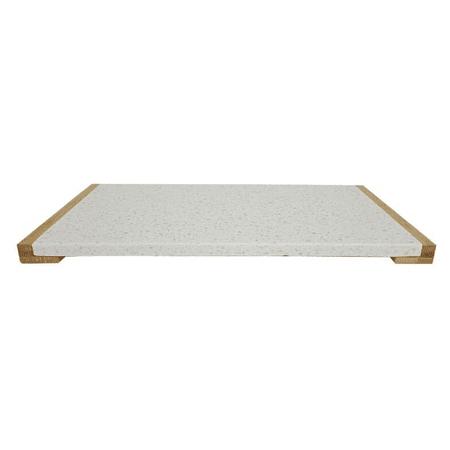Tabla terrazo y bambú