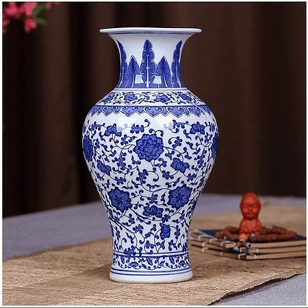 Florero cerámica chino B