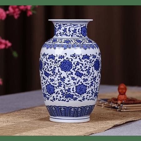 Florero cerámica chino A