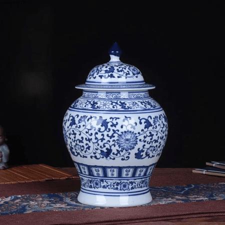 Jarrón cerámica chino B