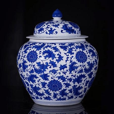 Jarrón cerámica chino C
