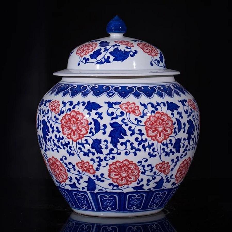 Jarrón cerámica chino D