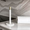 Porta toalla mármol bronce