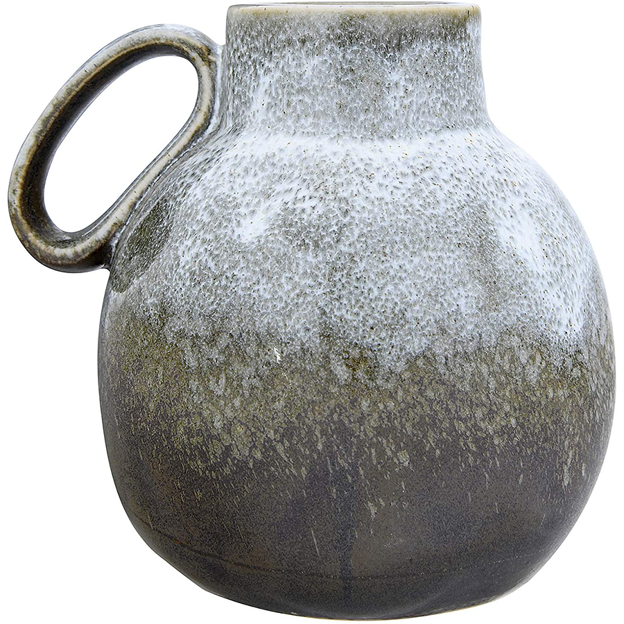 Jarra cerámica verde