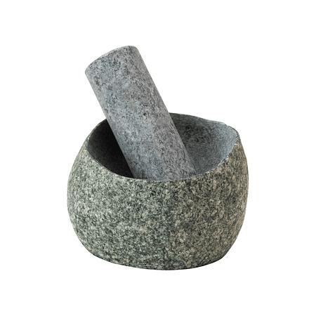 Mortero piedra natural