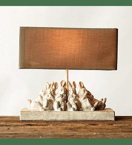 Lámpara conejos