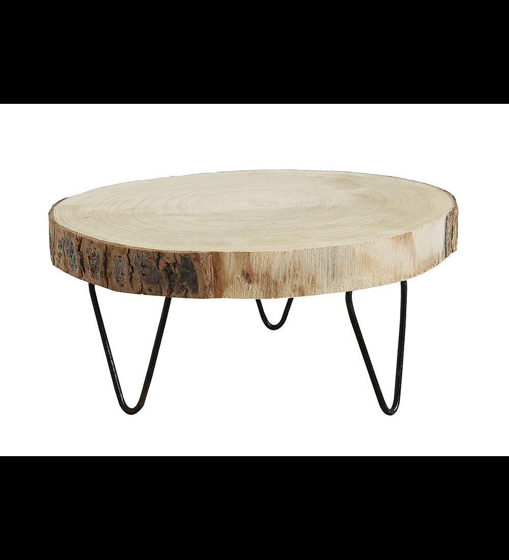 Pedestales madera