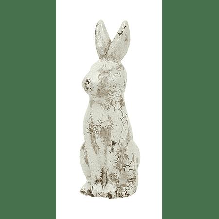 Conejo cerámica envejecido