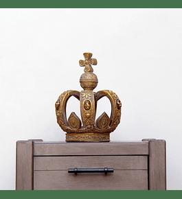 Corona resina con piedras