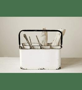 Porta utensilios compartimientos