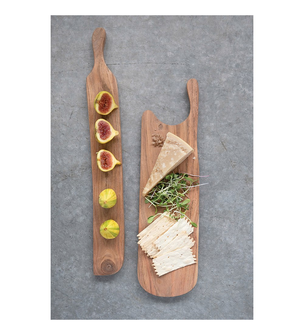 Tabla madera con mango
