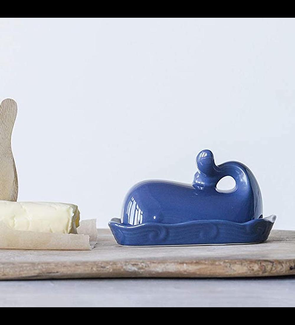 Mantequillera ballena azul