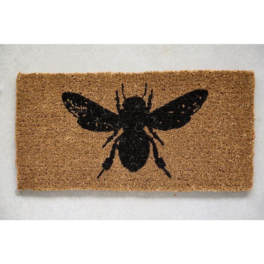 Limpiapiés abeja
