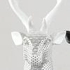 Busto ciervo blanco