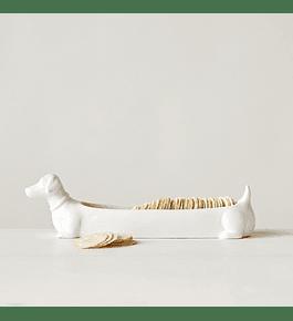Perro porta galletas