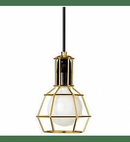Lámpara dorada
