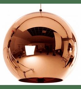 Lámpara globo cobre