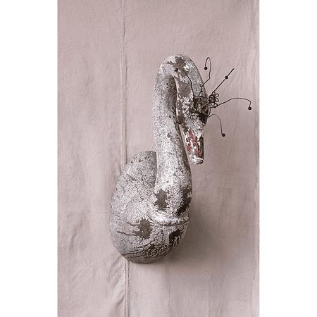 Cisne de resina XL