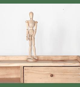Cuerpo articulado madera