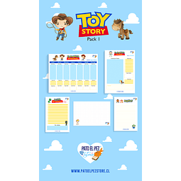 PACK 1 TOY STORY