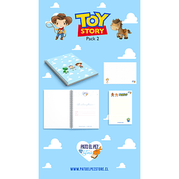 PACK 2 TOY STORY