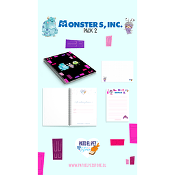 PACK 2 MONSTER INC
