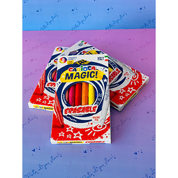 PLUMONES MAGIC 8 COLORES